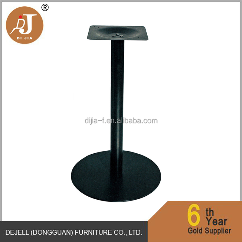 Black Cast Iron Restaurant Dining Table Legs for Sale