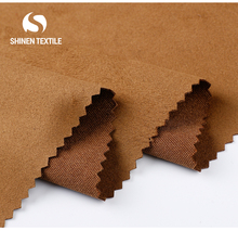 High fastness shaoxing manufacturer knitting suede fabric