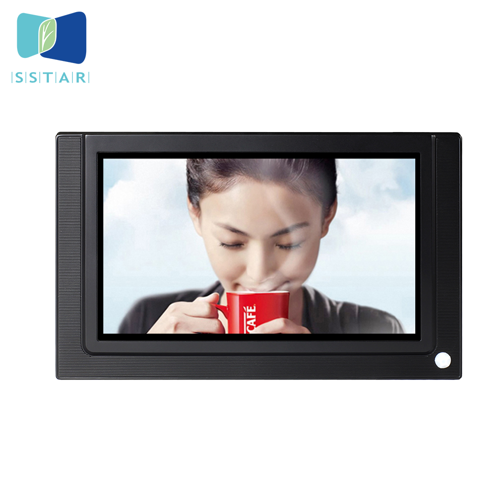 WIFI 7 inch wall mount android touch screen panel, small AD tablet android pos,new product shelf lcd screen video displayer