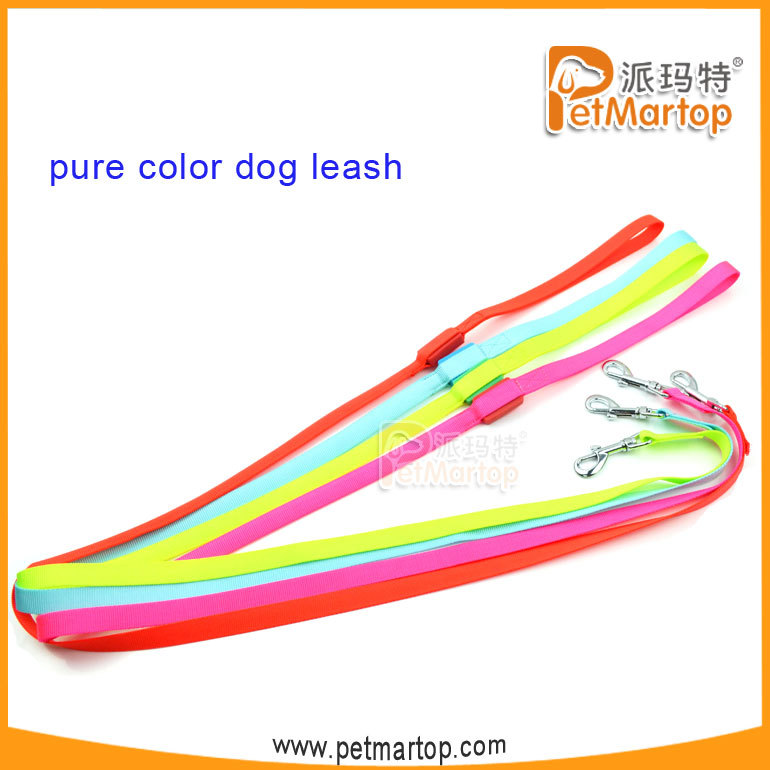 New Flashing LED Dog Running Leash With Light and Handles