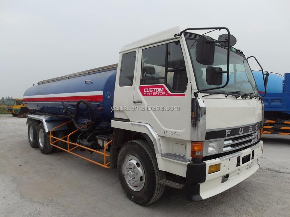 [IJ-856] Used Fuso tanker <strong>truck</strong>