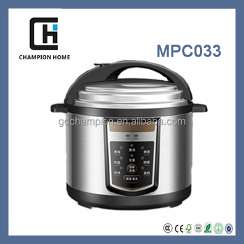 2015 MPC033 8 function automatic electric pressure cookers