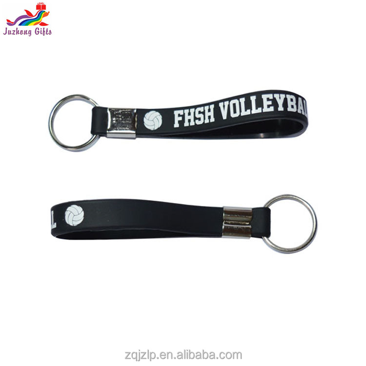2017 High quality advertising all kinds key chain,eco-friendly rubber silicone keychains