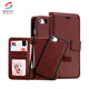 Wholesale leather phone case wallet for samsung galaxy s8 plus s8 s7 edge s7