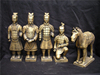 MINI exquisite gifts terracotta warriors figurines statue