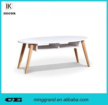 MFC Round Tea Coffee Side Table Design For Living Room