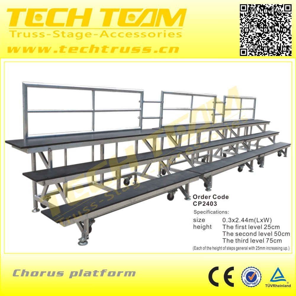 Singing Platform school chours Platform events stage