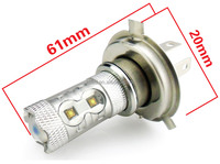 Extra bright fog lamp 50w p43t h4 led automotive led lights