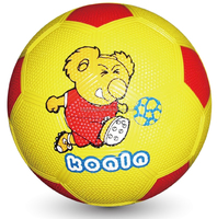 colorful carton rubber soccer ball in bulk for children playing