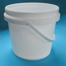 1 Liter PP Clear Plastic Bucket For Food