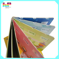Korean book printing children study book printing learning letters board book printing