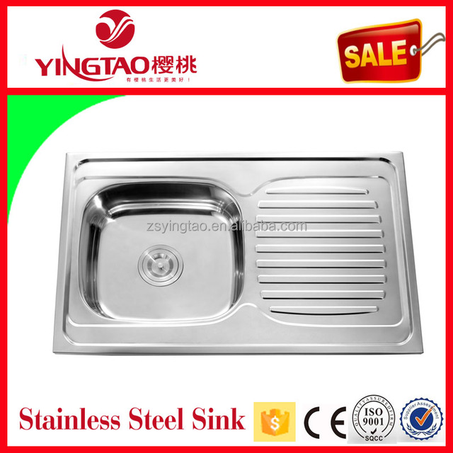 China stainless steel sink plant export 32x20 dimension moroccan sink