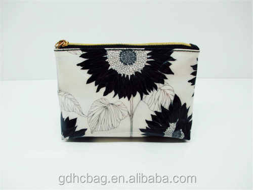 Hot Sale New Product PU Ladieds' Cosmetic Bags for Promotion
