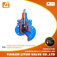 hot sale gear operated cast iron gate valve for tianjin website