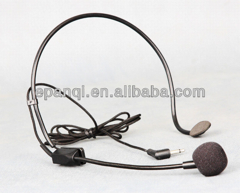 Hot sale! AT-8221B UHF wireless microphone lapel mic, headset microphone