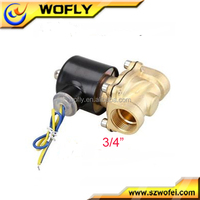 high temperature water 2 way 6v dc solenoid valve