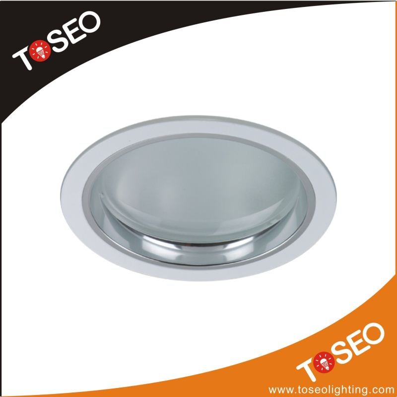 recessed energy saving e27 downlight fitting