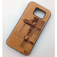 Wholesales Laser carving for iphone 6 , wooden phone case