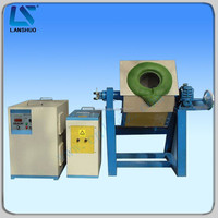 Small rotary metal smelting / melting furnaces for gold/silver/copper/platinum