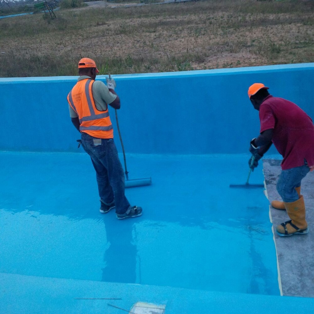 Maydos outdoor roof floor polyurea waterproofing floor coating