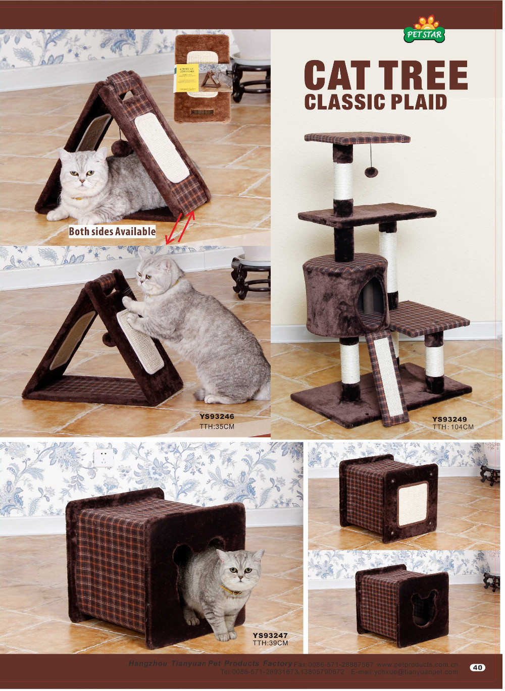 Promotional High-test luxury Cat Tree Castle