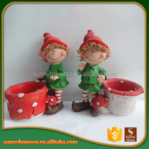 Mini Baby Christmas Gift Folk Art Resin Statue Best Selling Items
