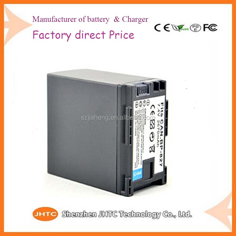 Digital camera <strong>Battery</strong> wholesale from shenzhen factory for Canon BP-827