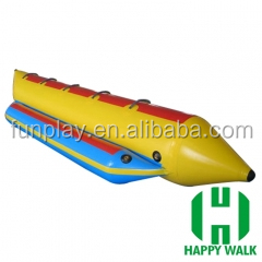 HI cheap plastic fishing boat for sale /Inflatable banana boat price