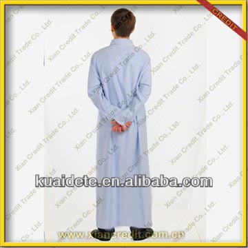 2014 Fashionable 100% cotton Islamic Caftan for men MTB-524