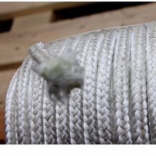 knitted fiberglass sleeve providing braided packing