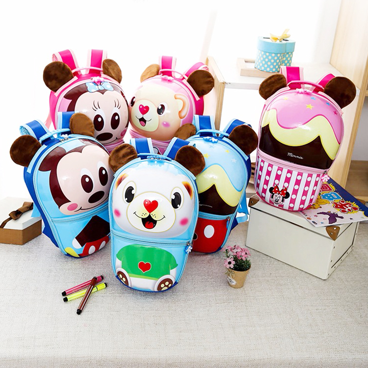 Durable beautiful cartoon pc sport backpack kids backpack