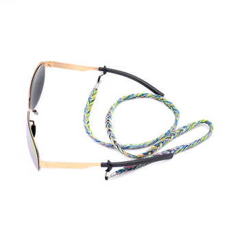 The aged portable discoloration hanging eyeglasses cord