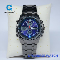 New Multi-Function Cool Sports Mens Analog Clock Set Digital Wrist Watch