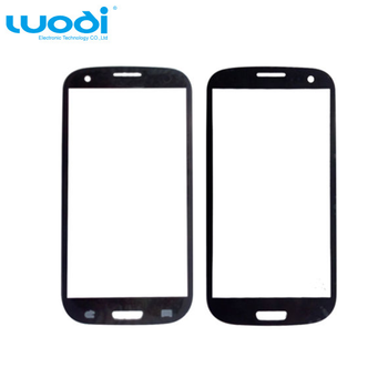 Display Glass Touch Screen Front Glass Panel black For Samsung Galaxy S3 9300