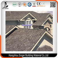 Fiberglass Asphalt Roofing Shingles/Colour Glazed Asphalt Roof Shingles Made in China
