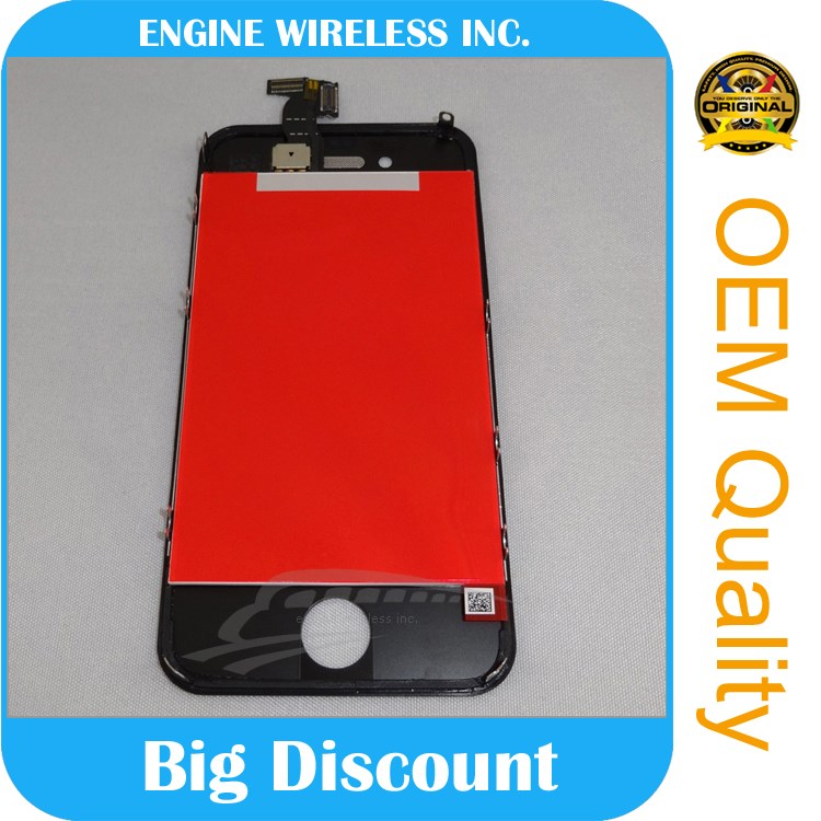guangzhou manufacturers for iphone 4 lcd full set conversion kit