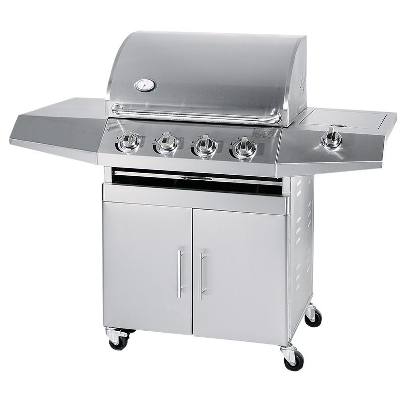 CE Goedgekeurd 4 brander Outdoor BBQ Rvs Gas Barbecue Grill