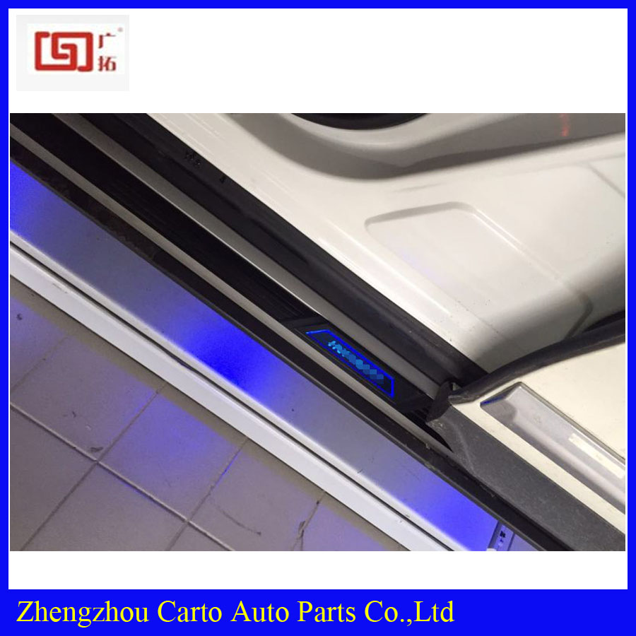Aluminium alloy side step bar Running boards for INFINITI QX60 car Side step