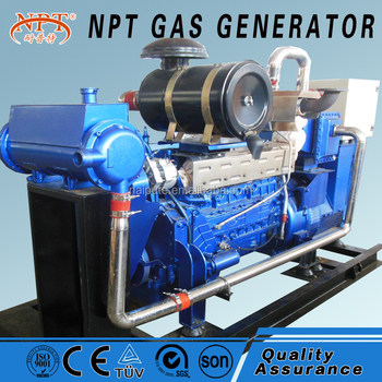 gas generator 100kw 230V 3 phase 50hz