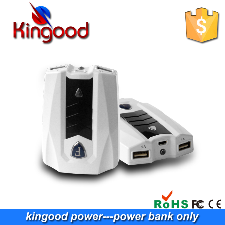 Promotional items for sports car appearance dual USB output 8200mah mobile power bank for iphone