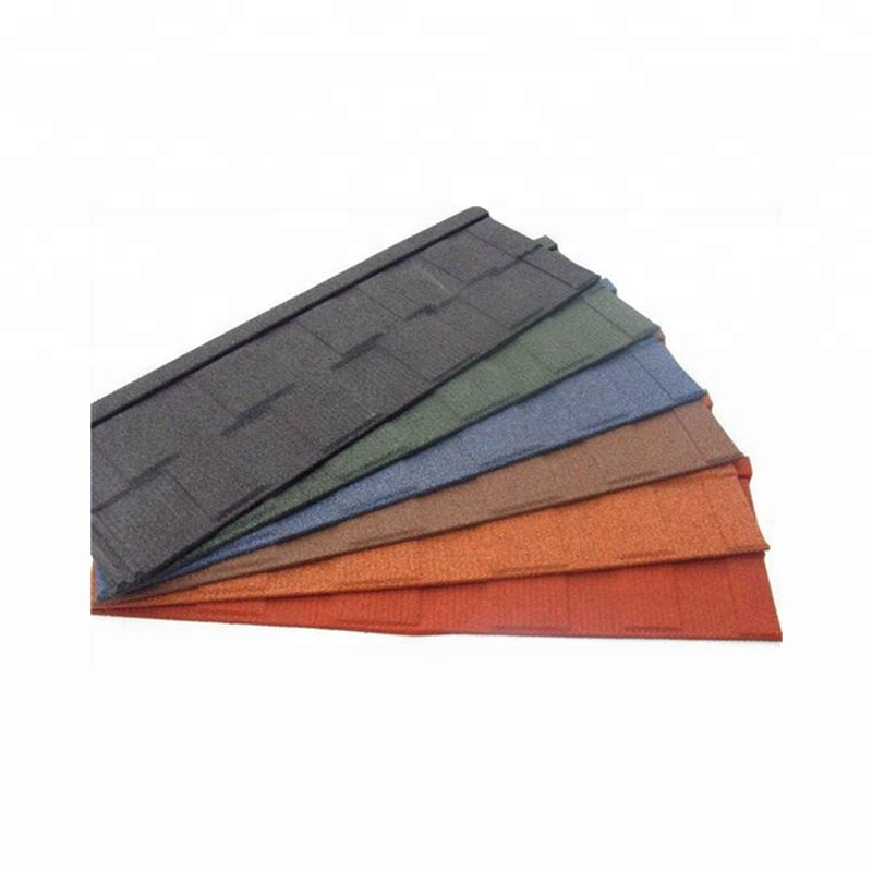 0.4MM Stone color coated metal roof tile colours in kerala