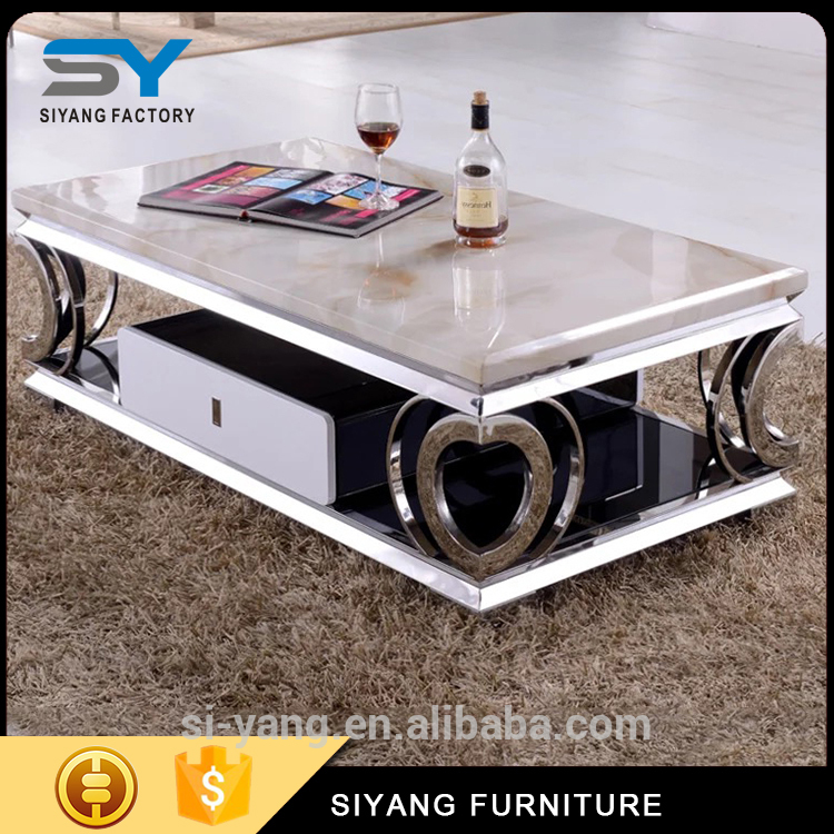 european rug stainless steel diamant table stainless steel coffee table