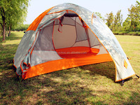 Single layer camping tent for outdoor travel