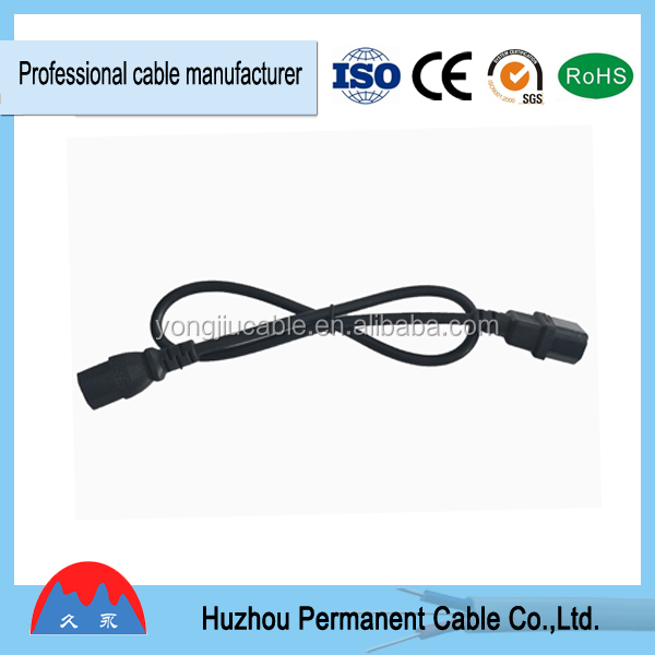 VDE approval Euro standard lamp power cord with inline onoff switch power cord