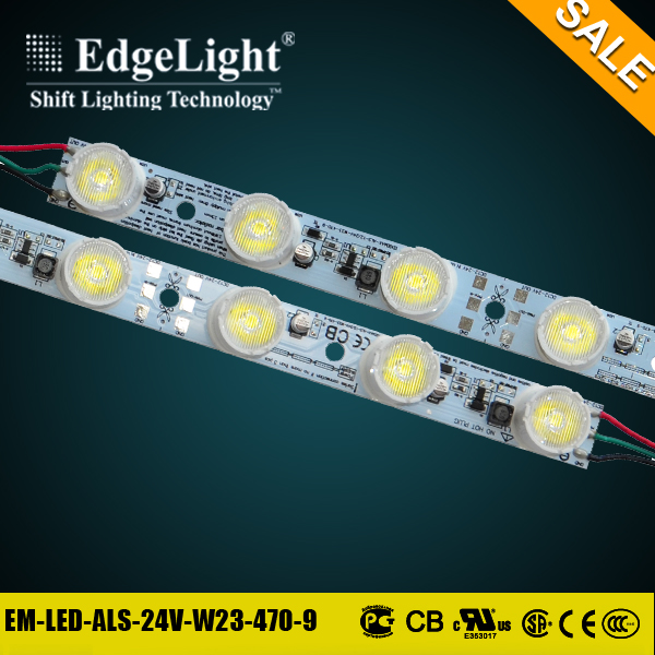 Edgelight flat rope light led tape light ul ce certificated for real estate agents