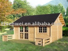 Garden guest house, wooden cottage Russian, made in China