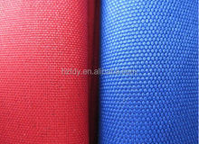 High quality 600D 1000D cordura 100% polyester twill fabric for bags tents sports in Hangzhou