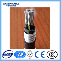low voltage alluminum alloy cable Armored & Sheath Alloy Cable (AC WU90), 0.6/1KV 3 cores, allumnium alloy conductors