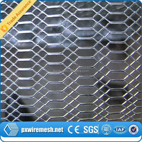 Aluminum expanded metal mesh for shipyard