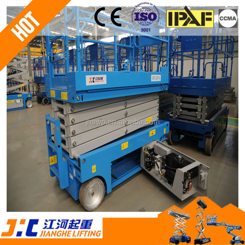 Safe and Reliable Aerial Work Platform self propelled articulated boom lift, telescopic boom lift, scissor lift